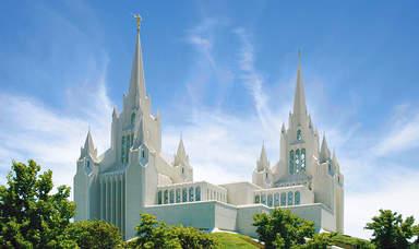 Храм мормонов в Сан-Диего