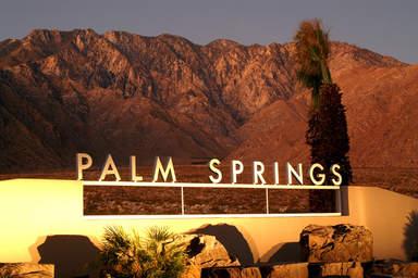 Палм-Спрингс - курорт в пустыне