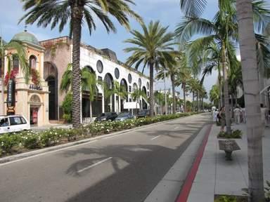Улица в Голливуде