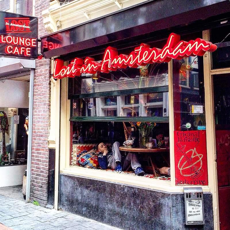 Ресторан в Амстердаме
