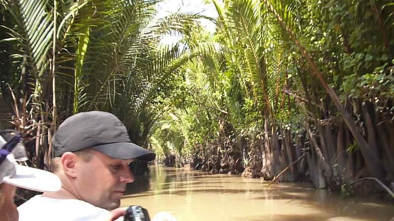 Заросли в дельте реки Меконг