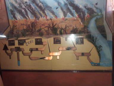 Схема туннелей Кучи