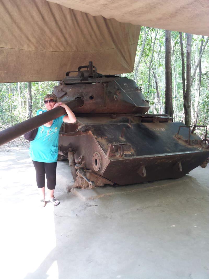 Трофейный американский танк