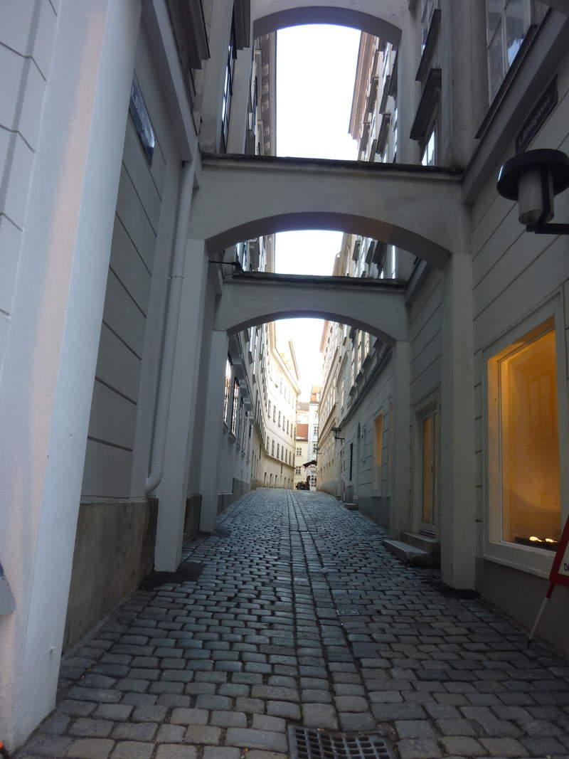 Уличные пролёты в Вене