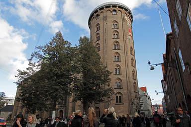 Круглая башня в Копенгагене