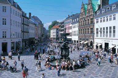 Старая площадь в Копенгагене
