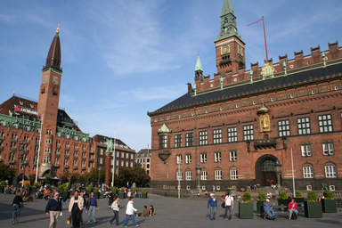 Здание Ратуши в Копенгагене