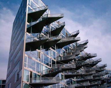 Здание в спальном районе Эрестад в Копенгагене