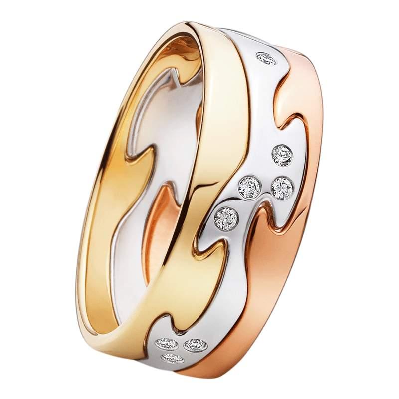 "Georg Jensen - кольцо ""Вечная любовь"""