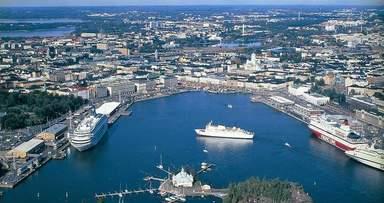 Панорамный вид Хельсинки