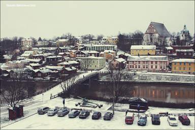 Зимний Порвоо