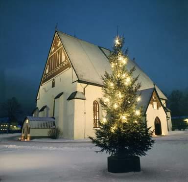 Рождество и Новый год в Порвоо