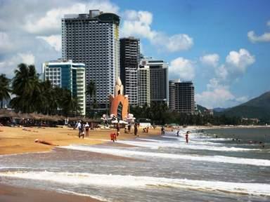 Нячанг, общественный пляж