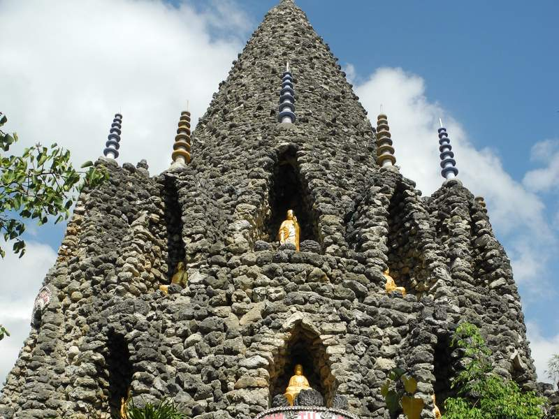 Коралловая башня, пагода Tu Van