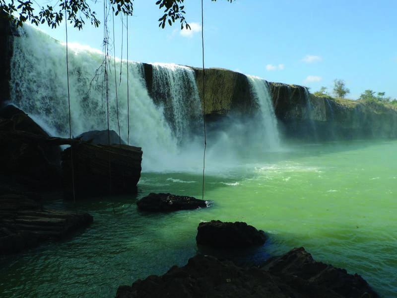 Водопад Drai Nur, провинция Дак Лак