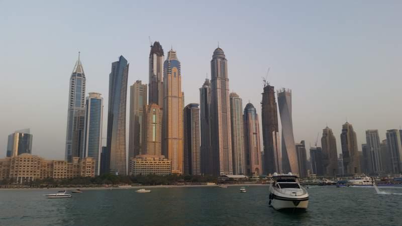 Небоскрёбы в Дубае