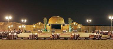 Место отдыха в пустыне