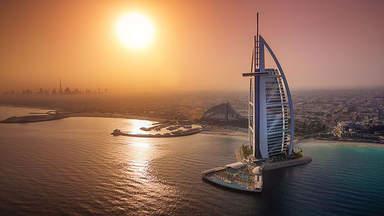 Дом на искусственном острове в Дубае