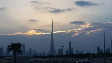 """Высотный шпиль """"Башня Халифа"""" в Дубае"""