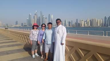 На набережной Дубая
