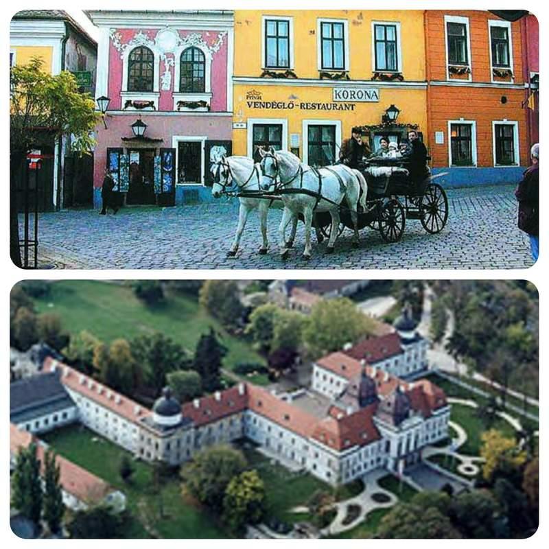 Сказочный город Сентэндре и венгерский Версаль в Гёдёллё