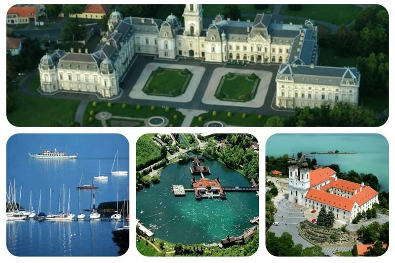 Озёра, города и дворцы Венгрии