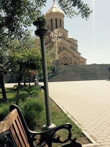 Старая церковь в Тбилиси