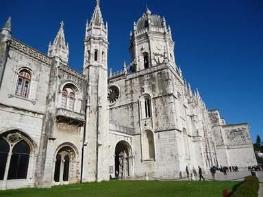 Монастырь иеронимитов в предместье Лиссабона