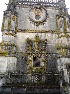 Фрагмент монастыря ордена Христа в Томар