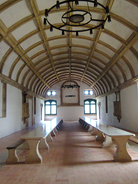 Внутренний интерьер монастыря