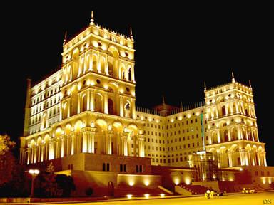 Дом правительства Азербайджана в Баку