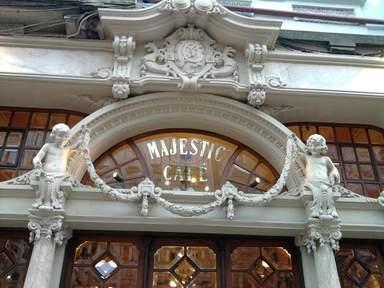 Старое кафе Мажестик в Порту