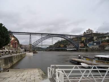 Мост короля Луиша Первого в Порту