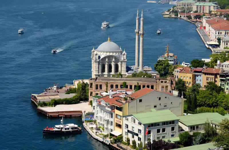 Мечеть Абдульмеджида на Босфоре