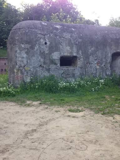 Дот, прикрывающий ворота форта