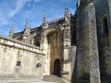 Монастырь ордена Христа в городе Томар