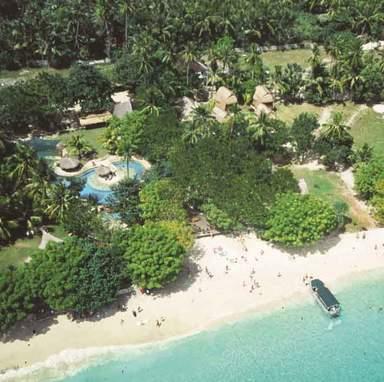 Тропический остров Лембонган