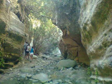 Ущелье Акавас