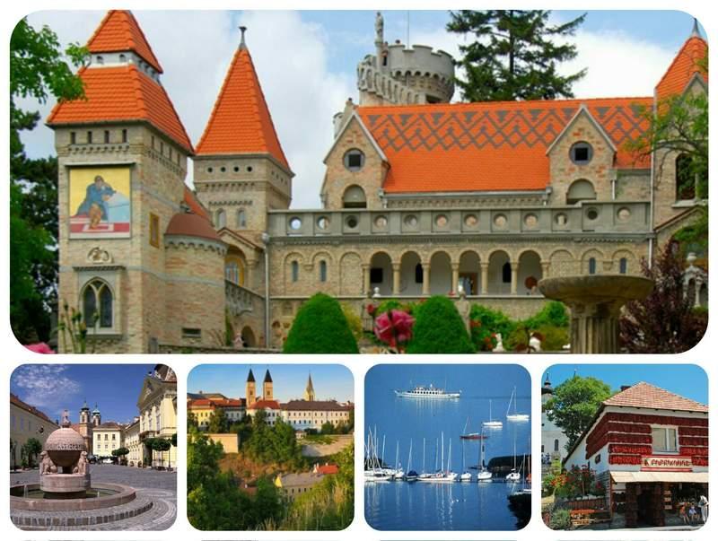 Озёра, замки и города Венгрии