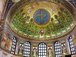 Мозаика в базилике