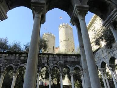 Вид на Сопранские ворота