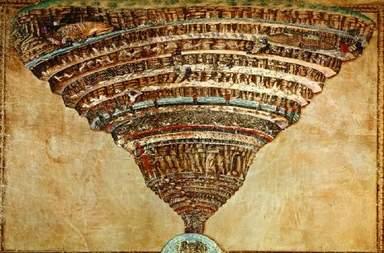 «Карта ада» Боттичелли