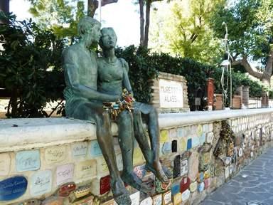 Скульптура влюбленных. Автор Эрос Беллини