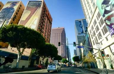 Новый Даунтаун в Лос-Анджелесе