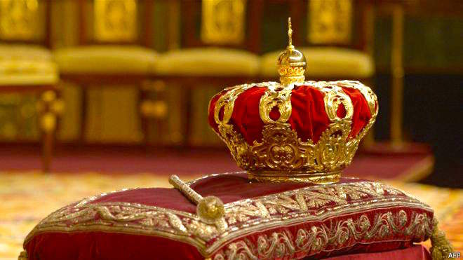 Корона и Скипетр Испанской Монархии