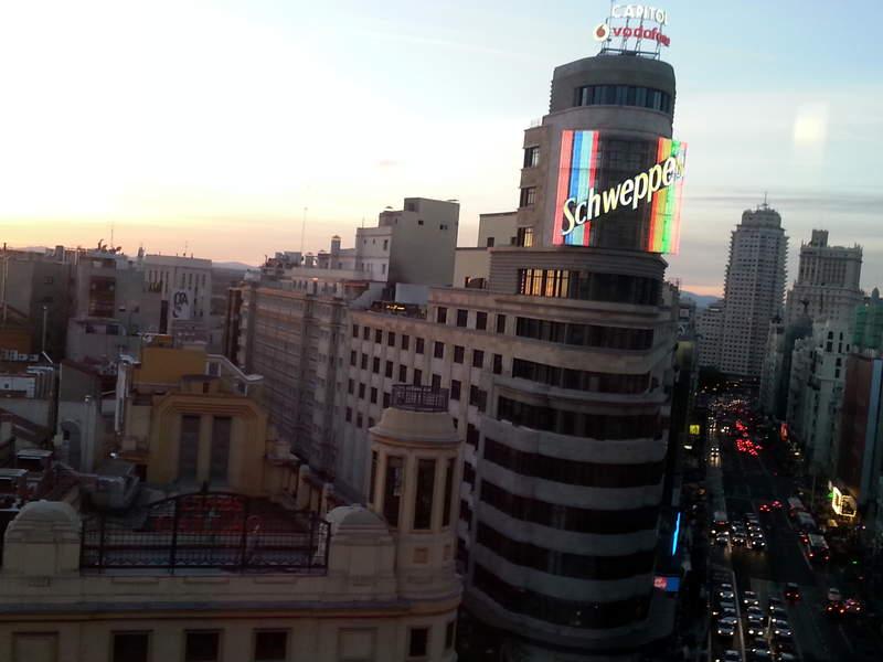 Вечерний Мадрид