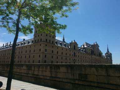 Дворец - монастырь Эскориал