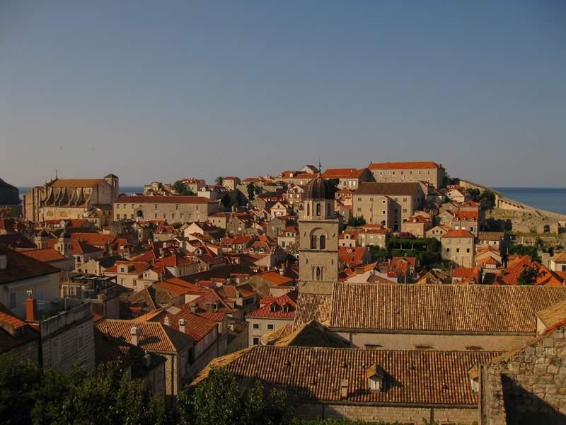 Крепость в старой части города Дубровник