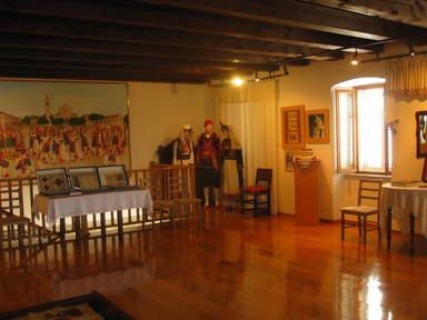 Музейный интерьер