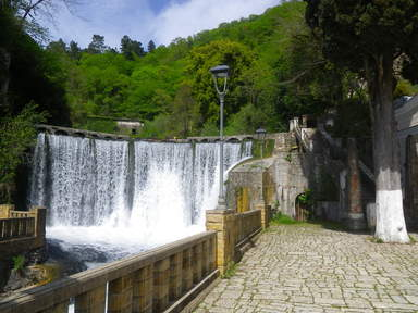 Водопад, Новый Афон